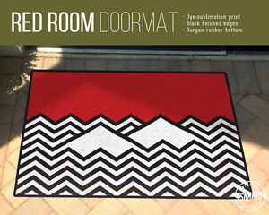 Image Is Loading Twin Peaks Red Room Doormat 24 034 X