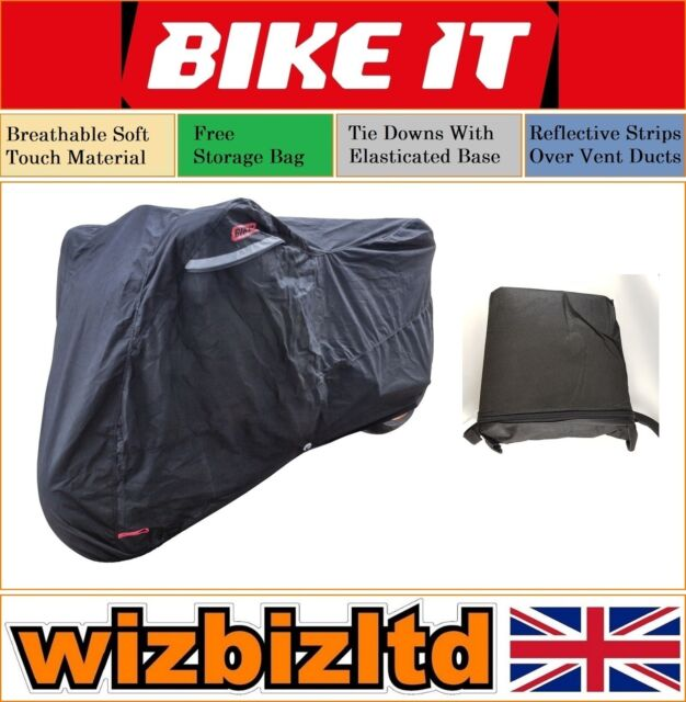 DUCATI 959 PANIGALE Oxford Protex Stretch Motorcycle Breathable Dust Cover Red