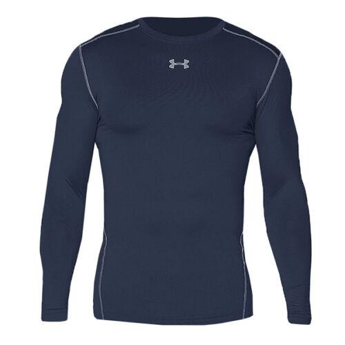 Under Armour ColdGear Compression Crew messieurs shirt us navy 1265650-410