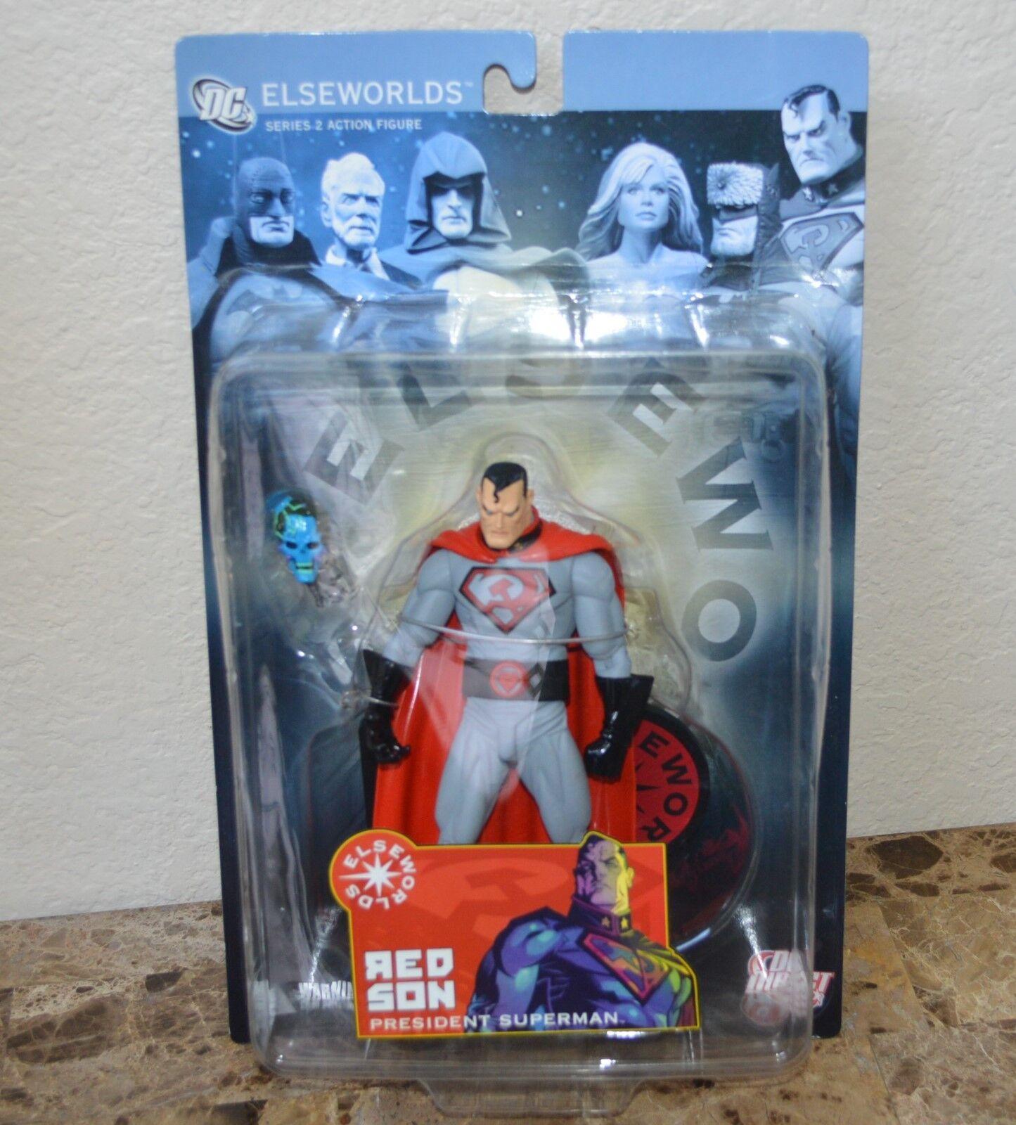 Elseworlds Serie 2 Rot Sohn Präsident Superman 6in Actionfigur Dc Direct