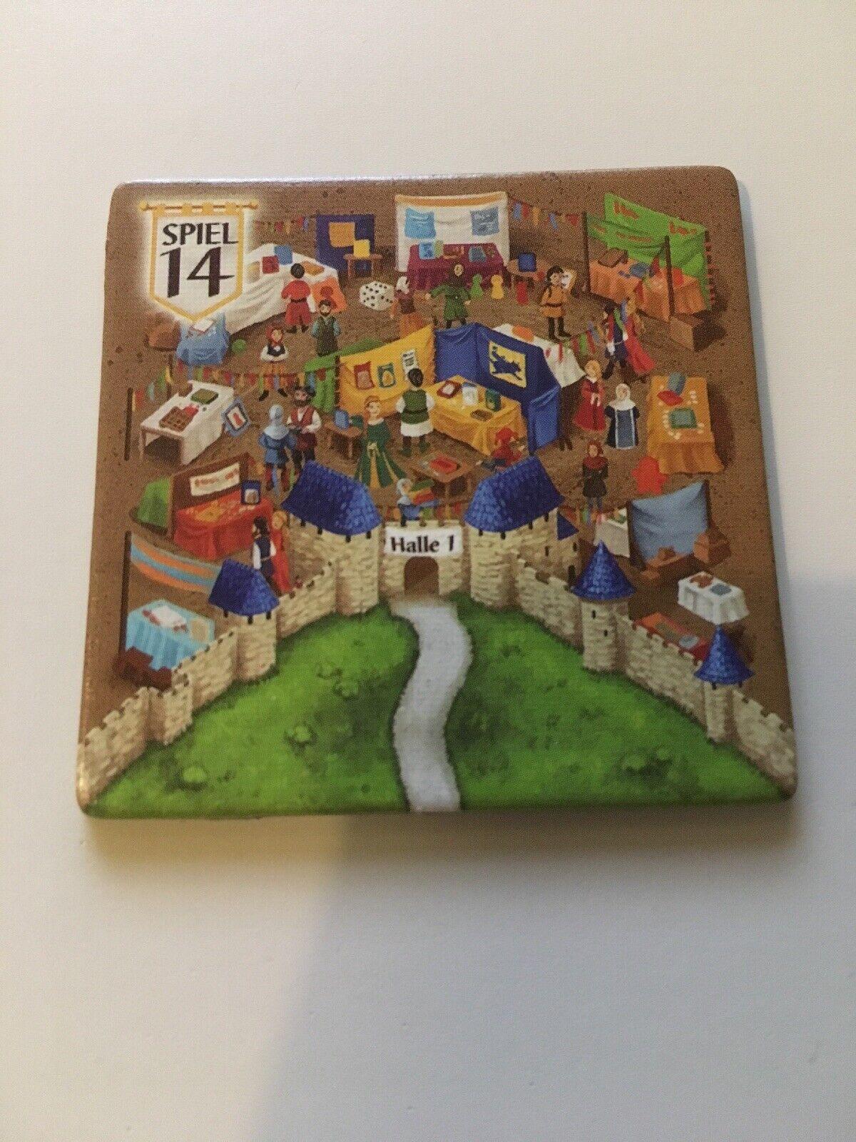 Carcassonne - Messeplättchen Sonderkarte Essen Promo - Spiel 14 TOP