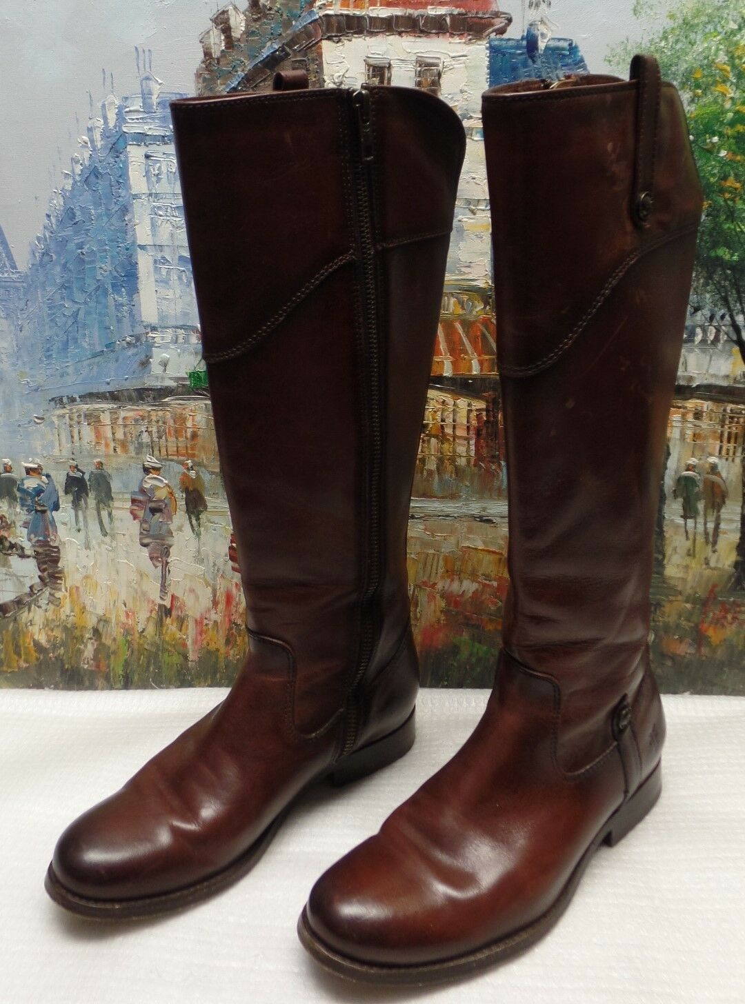 Frye Melissa onglet Bottes hautes-Taille 5.5B -  427.95