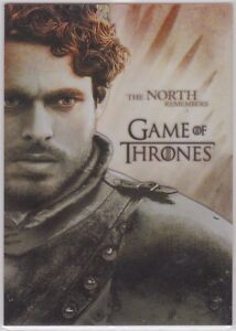 Game Of Thrones Season 2 Pl6 Gallery Insert Card Robb Stark Ebay