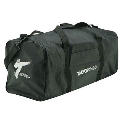 NEW Martial Arts Sparring Gear Bag Taekwondo Karate MMA Equipment Bag-BLACK S,L