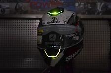 MEDIUM Shark Skwal LED Lights Street Full Face Motorcycle Helmet Switch Rider