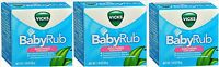 Vicks Baby Rub Soothing Comfort For Babies 1.76 Oz ( 3 Pack )