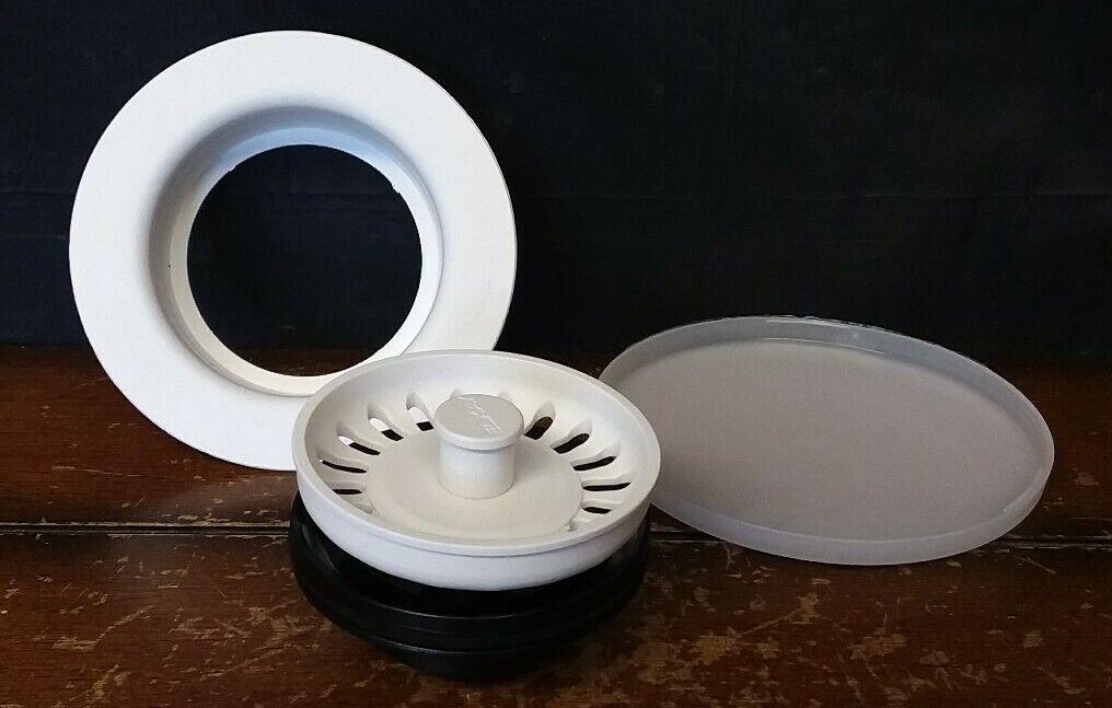 Elkay LKQS35BK Polymer Drain Fitting with Removable Basket Strainer