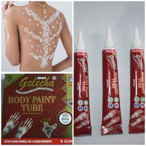 weisse henna paste tube tattoo white mehndi indien klinik. Black Bedroom Furniture Sets. Home Design Ideas