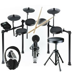 alesis nitro electronic drum kit eight piece percussion usb dm6 replacement 5060369503746 ebay. Black Bedroom Furniture Sets. Home Design Ideas