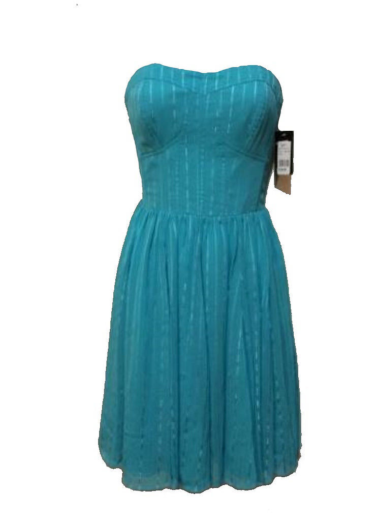 Guess Woherren Cocktail Party Dress 6 in Turquoise, Fully Lined