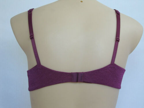 Berlei Barely There Ladies Underwire Bra sizes 10A 10B 16B  Colour Burgundy