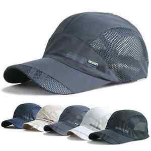 Unisex-Sport-Baseball-Mesh-Hat-Running-Visor-Quick-drying-Cap-Summer-Outdoor-hat