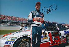 Michael WALTRIP SIGNED Autograph Photo AFTAL COA Nascar Toyota Racing Legend USA