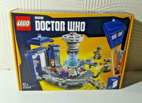 LEGO DR DOCTOR WHO IDEAS 21304 NEW AND SEALED WEEPING ANGEL DALEK 11 AND 12 DRS