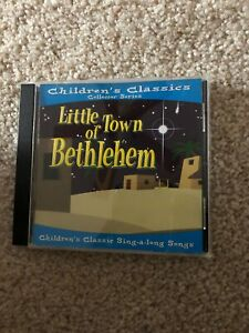 LITTLE-TOWN-OF-BETHLEHEM-CHILDREN-039-S-COLLECTOR-SERIES-OF-STORIES-amp-SONGS