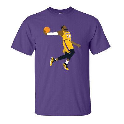 Lebron Dunk T-Shirt - James NBA Basketball Jordan - Adults & Kids Sizes - Purple | eBay