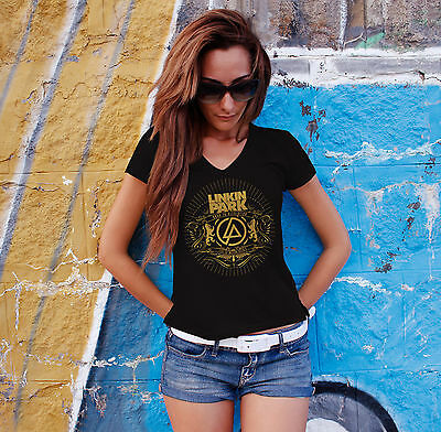 LINKIN PARK Women White Tank Top Chester Benning Tee Shirt XS S M L XL XXL 3