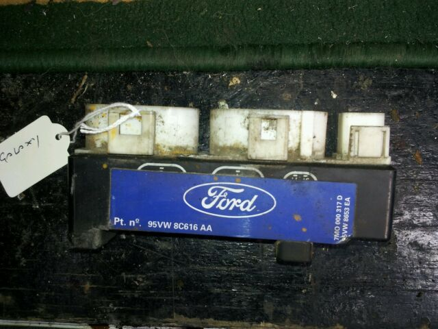 COOLING FAN RELAYS 1998 FORD GALAXY