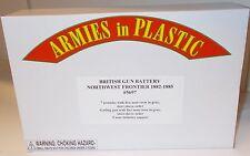 Armies in Plastic 5697 - British Gun Battery - N.W. Frontier 1882-1885      1/32
