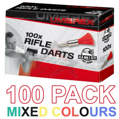 Pack de 100 Umarex Air fusil Fléchettes Pistolet Gun Pistol Airgun Fléchettes 4.5 MM .177