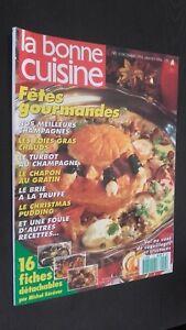 Revista Mensual Dibujada La Buena Cuisine N º 115 Dic 93-JANV 94 Buen Estado