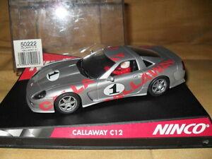 Le Meilleur Calaway C12 Num 1 Plata Ninco Ref 50222 Les Couleurs Sont Frappantes