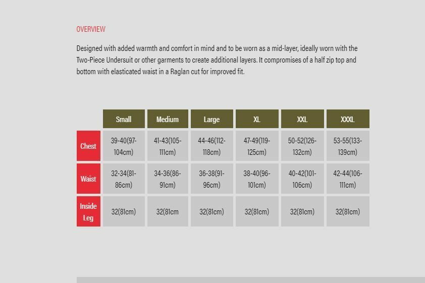 Trakker Reax NEW Reax Trakker Base Layer - All Größes a9a388