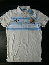 Manchester City Football Club Polo Camisa MCFC Tamaño Mediano Nuevo Etiquetas