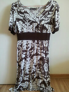 Relatively-New-Dress-in-brown-amp-white-floral-design-6