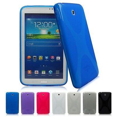 Durable Soft X TPU Gel Case Skin Cover For Samsung Galaxy Tab 3 7.0 P3200 P3210
