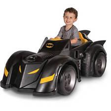 Batman Batmobile 6-Volt Battery-Powered Ride-On Car Kids Electric Classic Child