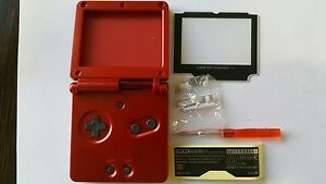 HOUSING-POUR-GAMEBOY-ADVANCE-SP-RED-NEW
