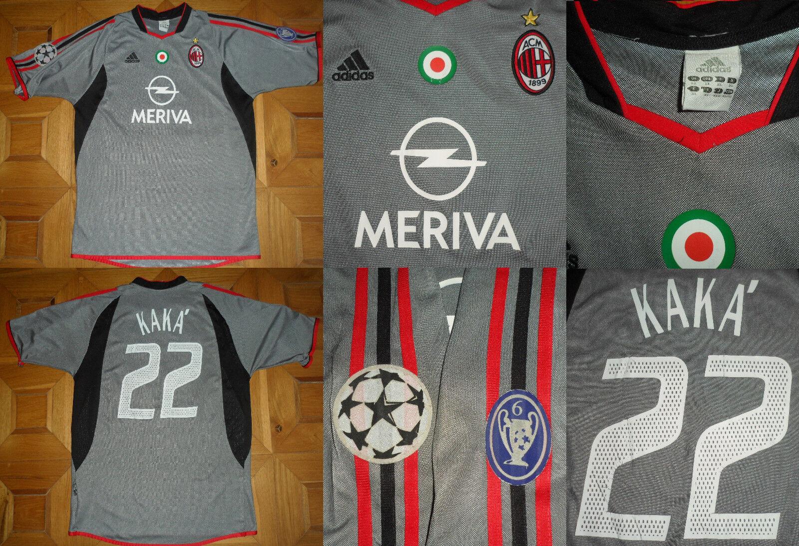 Maglia shirt jersey MILAN KAKA' OPEL ADIDAS 20032004