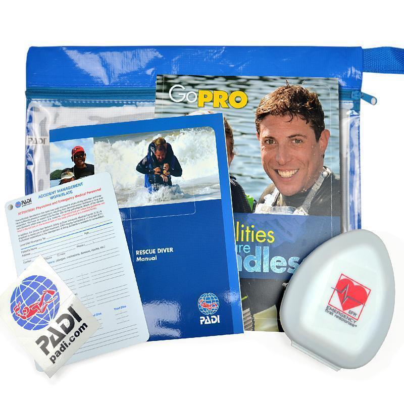 Pack Padi Rescue Taucher. Taucher. Taucher. Version französisch 9a0092