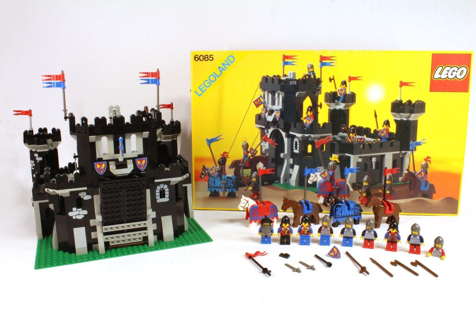 Lego 6085 Black Black Black monarque Castle Ritterburg Chevalier Incl. Neuf dans sa boîte & Instructions | Promotions  178b95