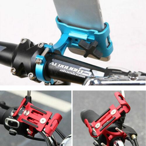 Soporte Montaje Manillar Moto Bicicleta De Aluminio iPhone Teléfono Celular GPS durable
