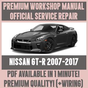 workshop manual service repair guide for nissan gt r 2007 2017 rh ebay co uk car audio amplifier repair manual car audio amplifier repair manual