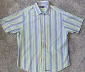 089f9cd5ab1663 Ted Baker London   Men s Short Sleeve Button-Up Camp Shirt Size Ted ...