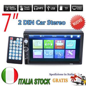 7-039-039-2-DIN-AUTORADIO-STEREO-AUTO-RADIO-AUX-TF-BLUETOOTH-USB-MP5-MP3-PLAYER-FM-IT