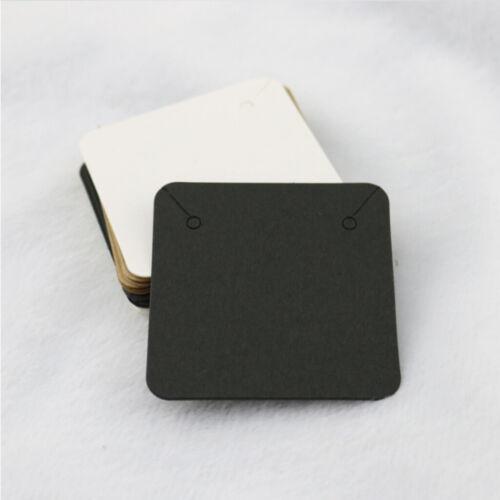 100pcs Schmuck Halskette Display Veranstalter Inhaber Paket hängen Karte