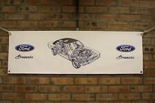 ford granada mk1  large pvc banner  garage  work shop man cave classic show