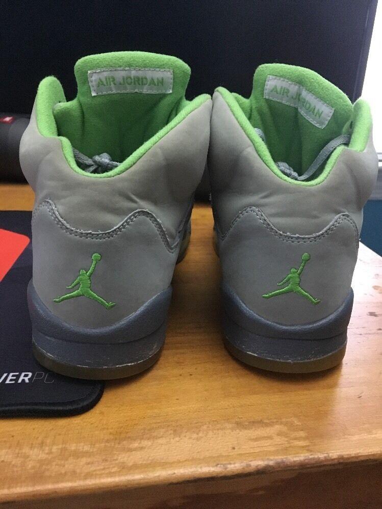 Jordan 5 größe grüne - bohnen - größe 5 7y 712fbd
