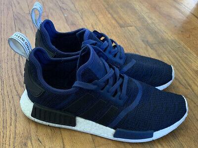 Adidas Nmd R1 Mystery Blue Navy Mens