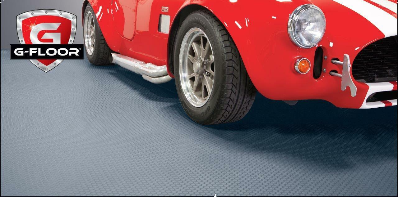 BLT G-Floor 60 Mil Small Coin Garage Floor Mat
