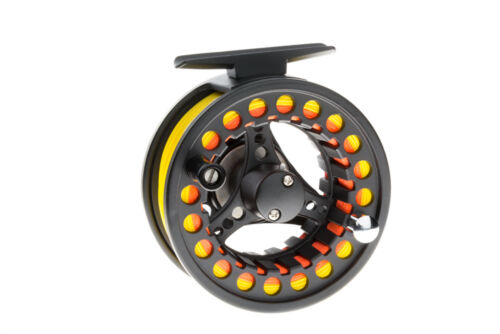 Fly line,Leader Fly Fishing Reel 1//2//3 Fully Loaded-
