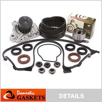Fit 96-00 Honda Civic De Sol Timing Belt Water Pump Valve Cover Kit D16Y7 D16Y8
