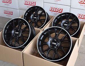 BBS-CH-R-schwarz-4-Felgen-8x18-Zoll-5x100-ET38-CH128-fur-Audi-A1