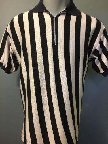 Vtg 1950s 60s Referee Ref Shirt Durene Football Ba