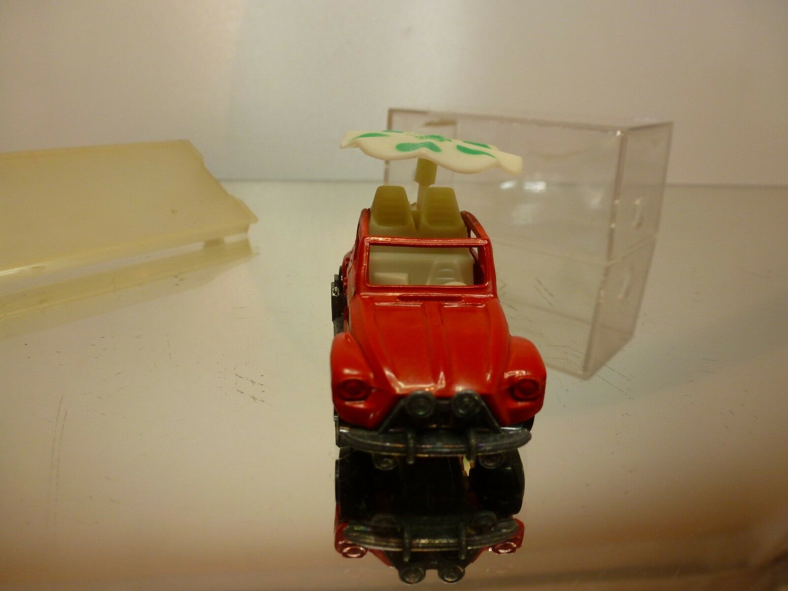 MAJORETTE MAJORETTE MAJORETTE 237 CITROEN DYANE MAHARADJAN - RED 1 60 - GOOD CONDITION IN BOX 62bbdd