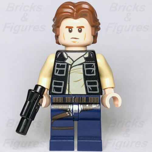New Star Wars LEGO® Han Solo Rebel Alliance Captain General Minifig 75159 75205